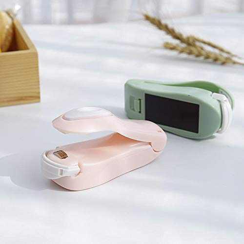2Pcs Mini Sealing, Handheld Heat Bag Sealer, Portable Mini Sealing Household Machine Heat Sealing Machine for Airtight Food Storage Saver
