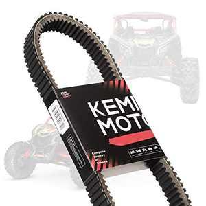 Kemimoto X3 Belt Heavy Duty Drive Belt Maverick X3 Belt CVT Belt Compatible with 2017 18 19 20 21 Can am X3/ XDS/XRS/MAX All Models OEM Replacement #422280651#422280652#49C4266