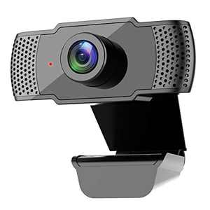 1080P Computer Camera, Kasily Webcam with Microphone for Desktop, USB Plug and Play & 3D Noise Reduction for Online Learning/PC Video Conference/Calling, Skype/YouTube/Zoom