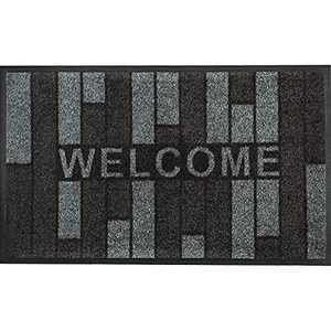 """OEMATS Door Mat Front Indoor Outdoor Doormat,Super Absorbent Door Mat Washable Floor Rug Heavy Duty Rubber Outside Floor Rug for Entryway Patio,17""""x29"""""""
