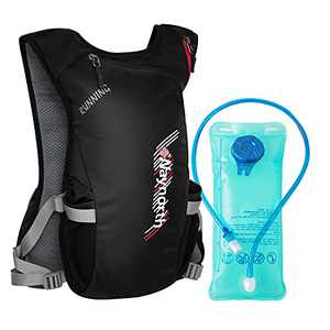 Waynorth Hydration Backpack Hiking Water Backpack with 2L Hydration Bladder Lightweight Hydration Pack for Running Hiking Climbing Biking Cycling Skiing Fits Kids Men Women
