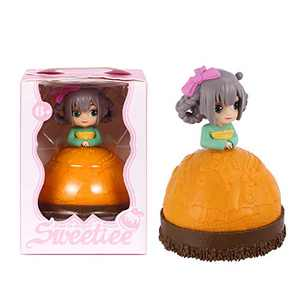 Cupcake Dolls Toys Transform from Cake to Mini Pricess Dolls 5 Inches, YULOMI Kids Girl Gift Set Doll Toy for Kids and Preschoolers,6 Years and Up(Mango Sophia)