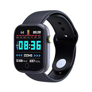 Smart Watch Fitness Tracker 1.3 in HD Screen with Heart Rate Monitor Blood Oxygen Meter Sleep Step Tracking Customize Dial IP68 Waterproof Smartwatch Compatible with iOS Android Apple for Men Women