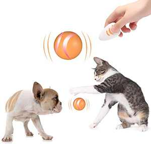Mould King,Interactive Ball,Your pet Joy,Intelligent Companion Furniture Thanks Automatic Turn pet Playmate,Dog cat Toys Ball