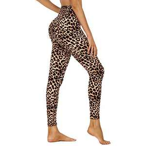 HIGHDAYS High Waisted Leggings for Women - Tummy Control 4 Way Stretch Pants for Athletic Workout Yoga