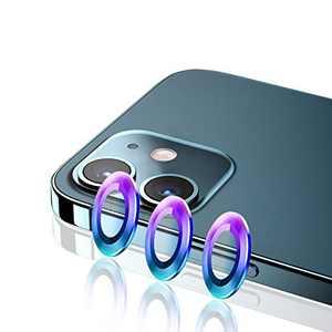 Camera Lens Protector for iPhone 12 Mini (5.4'') Premium Tempered Glass Aluminum Alloy Lens Protector Compatible with iPhone 12 6.1''/iPhone 11 Pro 5.8''/iPhone 11 6.1''/iPhone 11 Pro Max 6.5''
