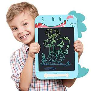 Misscat LCD Writing Tablet, 10.5 inch Education and Learning Drawing Pad, Colorful Doodle Board for 2 3 4 5 6 Years Old Girls Boys Kids (Dinosaur)