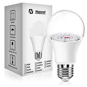 75W Equivalent Grow Light Bulbs, Plant Light Bulbs Upgraded for Seedlings, Flowering & Extension Growth, Full Spectrum Grow Light Bulbs for Indoor Plants, E26/E27, 9W (1 Pack)