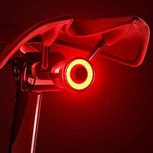 【2021 Version】 Bike Tail Light, Bicycle Rear Brake Lights, Braking Sensing Taillights, USB Rechargeable ,Ultra Bright LED Warning Bicycle Flashlight Auto On/Off Sensor IPX5 Waterproof