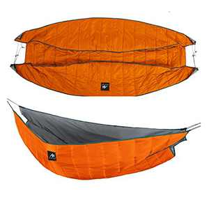 AYAMAYA Double Hammock Underquilt Under Quilts Large Size 250x130cm, Winter 4 Season 0 Degree Cold Weather Waterproof Underquilts for Hammock Camping Backpacking Lightweight Blanket Bottom Insulation