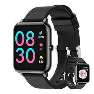 LB LIEBIG Smart Watch,Blood Pressure Monitor Waterproof IP67,Men's and Women's Fitness Tracker, Compatible with Android iOS, Fitness Watch for 8 Sports Modes