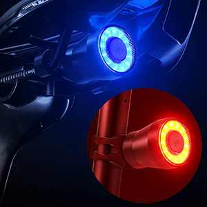 【2021 Upgraded Version】 Bike Tail Light, Bicycle Rear Brake Lights, Braking Sensing Taillights, USB Rechargeable ,Ultra Bright LED Warning Auto On/Off Sensor IPX5 Waterproof ( Two Colours )