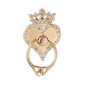 Cell Phone Ring Holder, Finger Ring Stand, Golden
