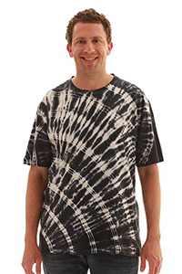 Whiskey & Oak Tie Dye Crew Neck T-Shirt 15959-C-L