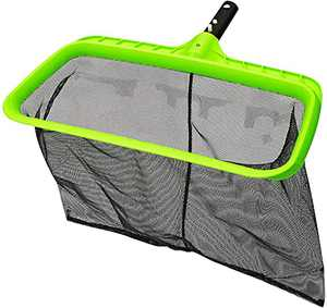 urchindj Pool Skimmer Net, Reinforced Frame Pool Skimmer, Deep Bag Pool Nets for Cleaning Faster, Easy Debris Pickup and Removal Pool Leaf Net