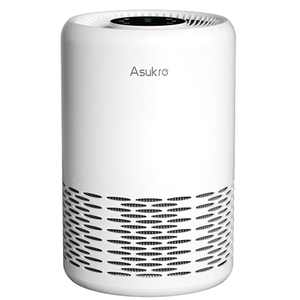Asukro HEPA Air Purifier, Home Air Cleaner Purifiers for Bedroom Filters Allergies, Smoke, Odors and Dust, Auto Mode, True H13 Grade