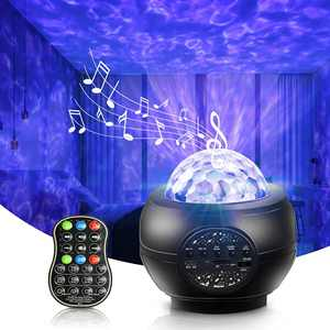 Star Projector Galaxy Projector Starry Night Light Projector for Gaming Room Bedroom Decor Star/Wave/Galaxy 3 in 1 Touch Remote Control Bluetooth Music Speaker Best Birthday Gift for Kid Adults
