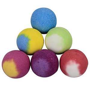 Bath Bombs 6 Pack Set Natural Handmade Colorful