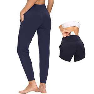 365 DAYS Sweatpants for Women Women's Joggers Pants Running Pants High Waist Active Women Joggers Sweatpants with Pockets Navy Blue