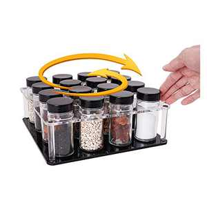 Spinning Spice Rack Clear