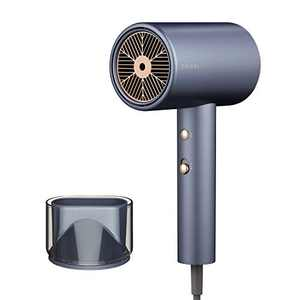Professional Water Ionic Salon Hair Dryers, 1800 Watt Fast Drying Blow Dryer with 1 Nozzle, 2 Speeds and 3 Heat Settings, Powerful Low Noise Hairdryer for Family and Salon