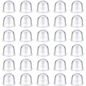 Honoson 30 Pieces Air Purge Primer Bulb 188-12 Carburetor Fuel Filter Primer Bulb Pump Bulbs for Chainsaw Carburetor Replacement Tool Supplies