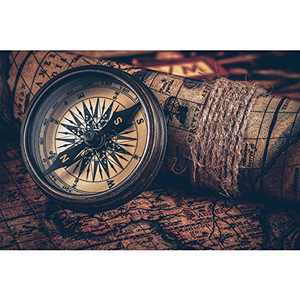 1000 Piece Jigsaw Puzzles for Adults Compass Navigation