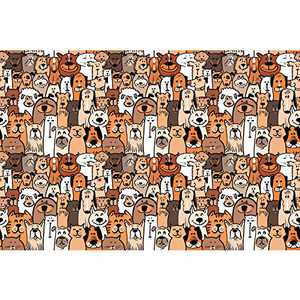 1000 Piece Jigsaw Puzzles for Adults Funny Animals
