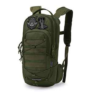 Mardingtop Hydration Backpack,Lightweight Water Backpack for Running,Hiking,Cycling and Climbing.7.9L Molle Tactical Motorcycle Backpack