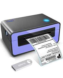 Polono Thermal Label Printer - 4x6 USB Thermal Address Postage Printer, Commercial Direct Thermal Label Maker, Compatible with Amazon, Ebay, Etsy, Shopify and FedEx, One Click Setup on Windows and Mac