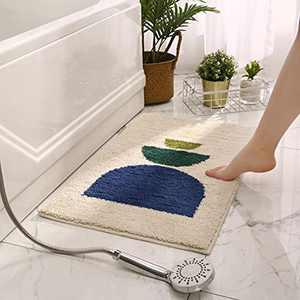 "Ultra Microfiber Soft Bath Mats for Bathroom Non-Slip Bath Mats for Bathroom Washable Bath Rugs Plush Fluffy 20""x32"""