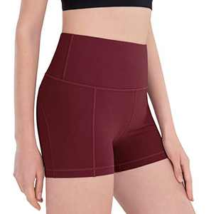 ESPIDOO Women Yoga Shorts with Pockets for Workout Yoga Running Hiking