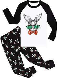 Pajamas Boys Easter Pjs Toddler Kids Rabbit Sleepwear Girls Cotton Pants Set Size 4