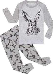 Easter Pajamas Boys Pjs Toddler Kids Rabbit Sleepwear Girls Cotton Clothing Pants Set Size 5