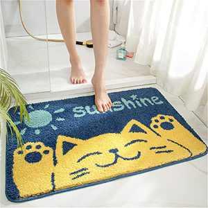 THRILRUG Bathroom Rug Mat,Non Slip Extra Soft Bath Mat Washable Dry Fast Water Absorbent Bath Rug,Carpets for Indoor,tub,Shower and Bathroom-CAT-16 x24/40x60cm