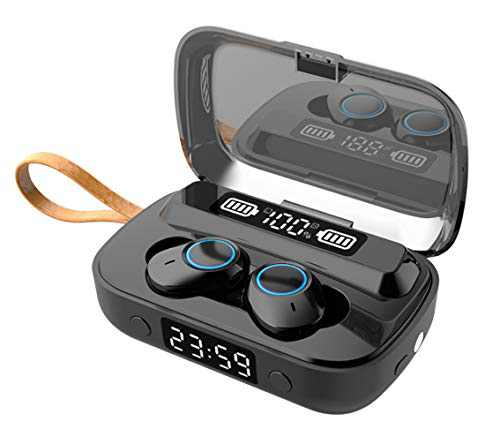 Wingfulrun Wireless Earbuds in-Ear Bluetooth 5.1 Earphones, USB Charging Case, IPX7 Waterproof Sport Headphones with Mic, Touch Control, Sports Earbuds for Gym, Home, Office