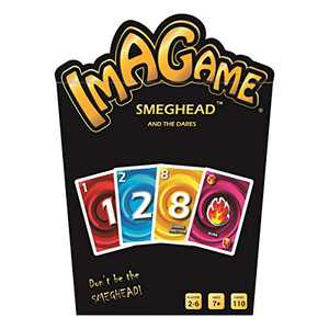 Smeghead and The Dares Card Game for Kids and Families, Super Fun Hilarious for Family Party Game Night, 2-6 Players, 110 Cards