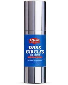 Dark Circle Eye Cream, Eye Cream Anti aging, Hydrating, Repairing, Eye Gel with Hyaluronic Acid, Nicotinamide, Polypeptides, Caffeine-American Brand