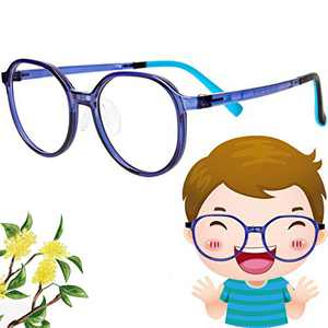 Yasee Scented Blue Light Glasses for Kids, Kids Blue Light Blocking Glasses for Boys Girls, 4-in-1 Lightweight Glasses IR, UV Ray, Bluelight Screen Filter Gaming, Reading, Computer Glasses.