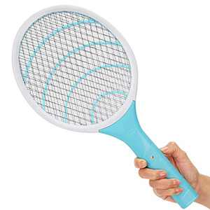 Electric Fly Swatter 3000 Volt Mosquito Killer Bee Bug Zapper Racket Pests Insects Control Fly Killer for Indoor Outdoor