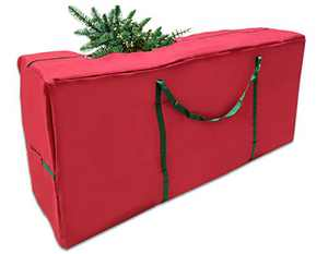 Large Christmas Tree Storage Bag - Waterproof Storage Bag with Handles and Zipper, Durable Dust-Proof Oxford Material Duffle Bag ( 65 x 30 x 15 inch, Holds Artificial Trees up to 9 Feet )