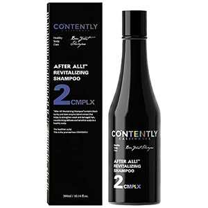 AFTER ALL! Revitalizing Shampoo - For All Hair types | pH Balancing Shampoo | 10.14 fl.oz