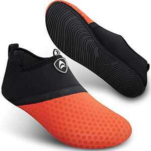 Water Shoes Anti Slip Aqua Socks Summer Fishing Walkig Surf Pool for Women Men SEEKWAY SB001 874