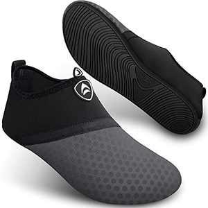 Water Shoes for Womens Mens Aqua Socks Quick-Dry Barefoot for Swim Beach Yoga SEEKWAY SB001 871