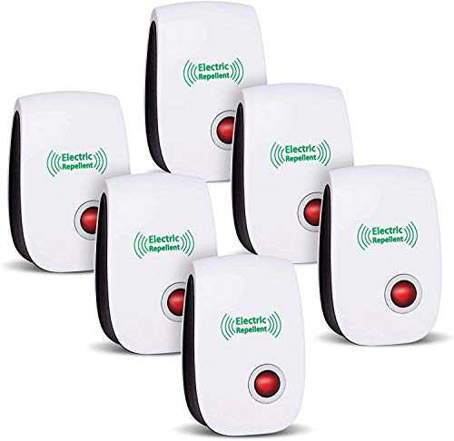 CIVPOWER Newest Ultrasonic Electronic Repellents(6 Packs)