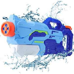 Water Gun, Squirt Guns 1400CC Water Guns for Kids, Long Range Large Volume Bulk Water Gun Toys for Kids, Squirt Gun for Summer Swimming Pool Beach Party