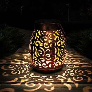 Solar Lantern, Infankey Solar Lanterns Outdoor Waterproof IP44, Solar Lights for Garden, Courtyard, Patio, Parties, Festival Chrismas Decoration