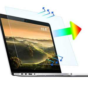 """2 Pack 15.6"""" Anti Blue Light Laptop Screen Protector - Anti-scratch and Anti-Glare Screen Protection - for 15.6"""" (Display 16:9) HP/DELL/Asus/Acer/Sony/Samsung/Lenovo/Toshiba, etc"""