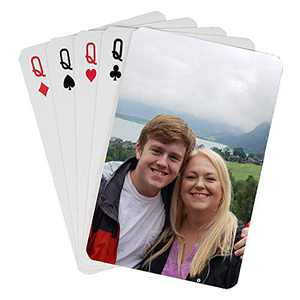 ZTZ Custom Playing Cards Custom Poker Cards Custom Cards Deck of Cards Card Decks Playing Cards (1 Poker Size Deck)