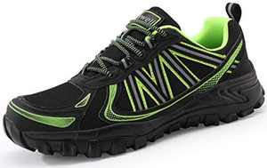 COOJOY Mens Walking Shoes Graphene Hiking Trekking Low Rise Trail Shoes Outdoor Trainers